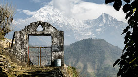 Bergpoort Royalty-vrije Stock Afbeelding