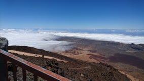 Bergpost van Onderstel Teide Tenerife Royalty-vrije Stock Afbeeldingen