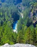 Bergrivieren in de bossen dichtbij Vancouver September 2014 Brits Colombia, Canada royalty-vrije stock fotografie