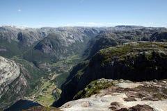 bergrogaland Royaltyfri Fotografi