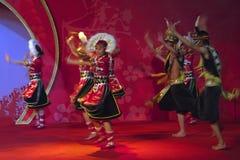Bergsång och dans Royaltyfria Bilder