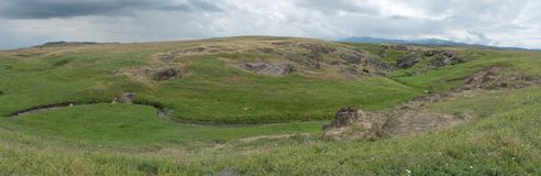 Bergs Kapala ', Mulet väder arkivfoto