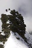 bergsbestigareöverkant Royaltyfria Foton