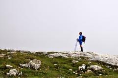 bergsbestigare Fotografering för Bildbyråer