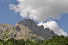 Bergscène Stock Fotografie