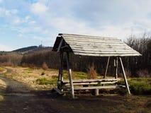 Bergschuilplaats Stock Afbeelding