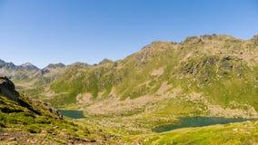 Bergseen Lizenzfreie Stockfotos