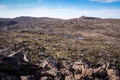 Bergseen an Mt-Feld, Tasmanien, Australien lizenzfreies stockbild