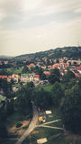 Bergsemester Rumänien Arkivfoton