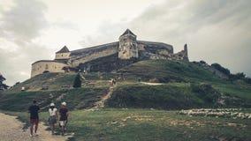 Bergsemester Rumänien Fotografering för Bildbyråer