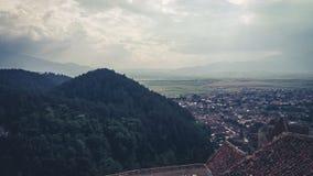 Bergsemester Rumänien Arkivbild