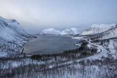 Bergsfjord Royalty Free Stock Photography