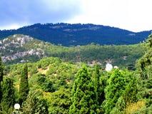 bergsikt Royaltyfri Foto