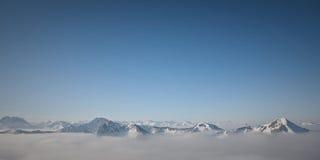 bergsikt Royaltyfri Bild