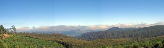 bergsikt Arkivfoton