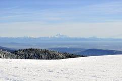 Bergsikt Arkivbild