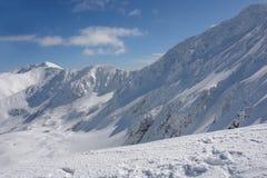 Bergsikt. Royaltyfri Bild