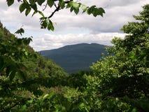 Bergsikt 1 Arkivfoton
