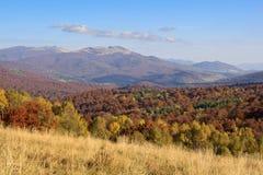 bergsikt Royaltyfria Bilder