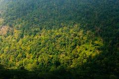 Bergsikt av den Maewon naturen i berg Thailand Royaltyfria Foton