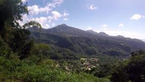 Bergsikt, Dominica stock video