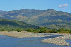Bergsikt från San Nicolas Philippines Royaltyfri Bild