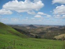 Bergsikt i Australien Royaltyfri Bild