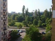 Bergsikt Vitosha sofia Royaltyfria Bilder
