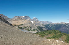 Bergsikter från Numa Pass Royaltyfri Fotografi