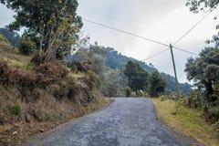 Bergsikter San Gerado de Dota, Costa Rica Royaltyfri Bild