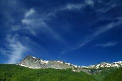 bergskedja fotografering för bildbyråer