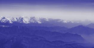 bergskedja Arkivfoton