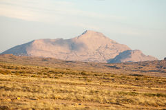Bergskedja Bektau- Ata Område Bektau- Ata Centrala Asien Kaza Arkivfoto