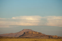 Bergskedja Bektau- Ata Område Bektau- Ata Centrala Asien Kaza Royaltyfri Bild