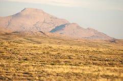 Bergskedja Bektau- Ata Område Bektau- Ata Centrala Asien Kaza Arkivbild