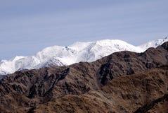 bergskedja för india ladakhleh Royaltyfria Bilder