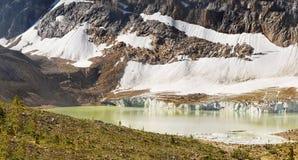 Bergskedjalandskap, Rocky Mountains, Kanada Royaltyfri Fotografi