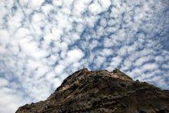 bergsky Royaltyfria Bilder