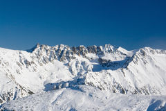 bergsky Arkivbilder