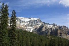 bergskysikt Arkivfoto