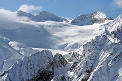 bergsnow Fotografering för Bildbyråer