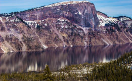 Bergspegel Arkivbild