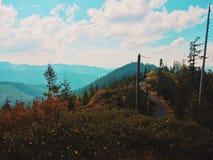 bergspitze lizenzfreies stockbild