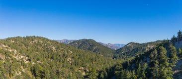 Bergspitzen in Süd-Kalifornien Lizenzfreies Stockfoto