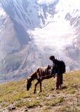bergssida pakistan Royaltyfria Bilder