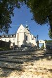 BergSt Anna Basilica Franciscan royaltyfria bilder