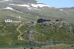 Bergstation Royaltyfri Bild