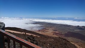 Bergstation des Bergs Teide Teneriffa Lizenzfreie Stockbilder