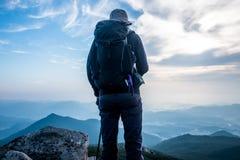 bergsteigen Stockfotos
