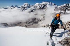 bergsteigen Stockfotografie